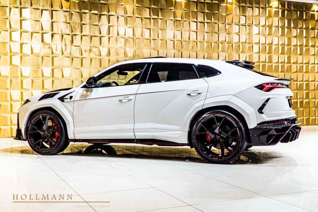Lamborghini Urus, модифицированный Mansory,