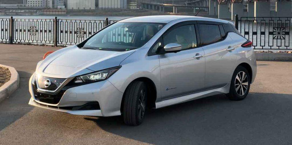 продажи новых электромобилей в России,
