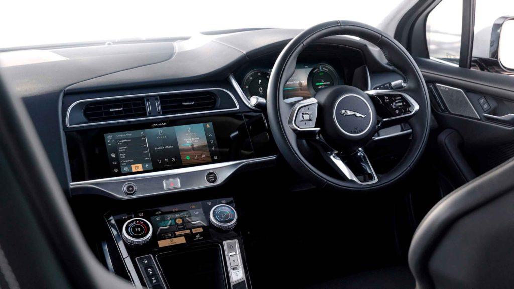 Jaguar I-Pace 2021 интерьер