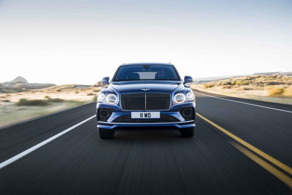 Bentley Bentayga Speed 2021 - самый быстрый в своем классе