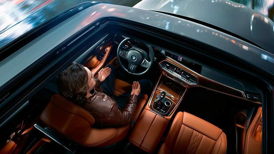 интерьер BMW X5 2020 года