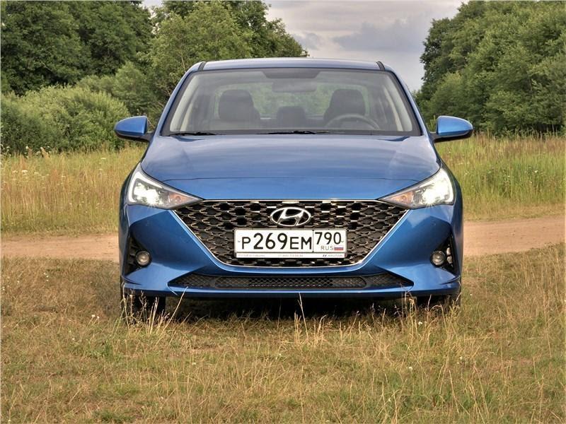 Новый Hyundai Solaris экстерьер