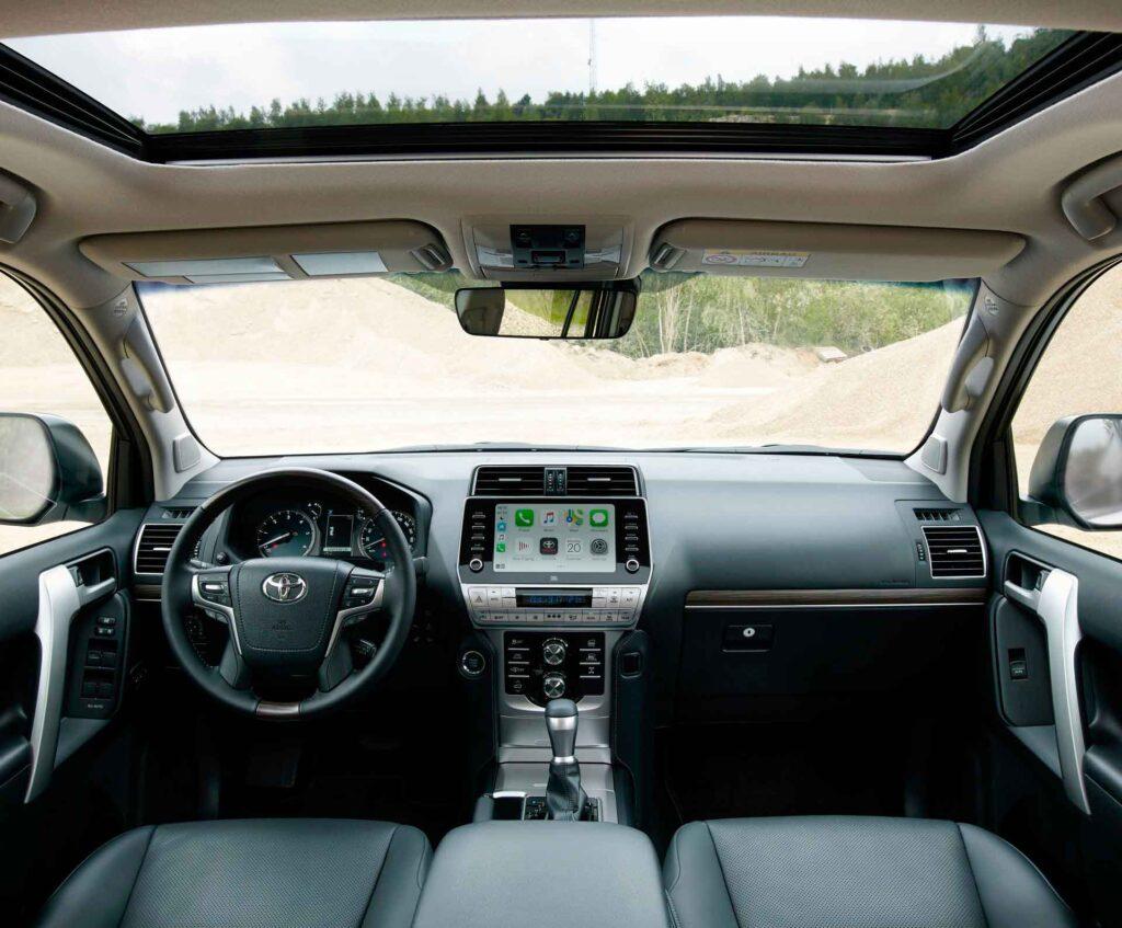 Toyota Land Cruiser Prado 2021 обновлен для Европы