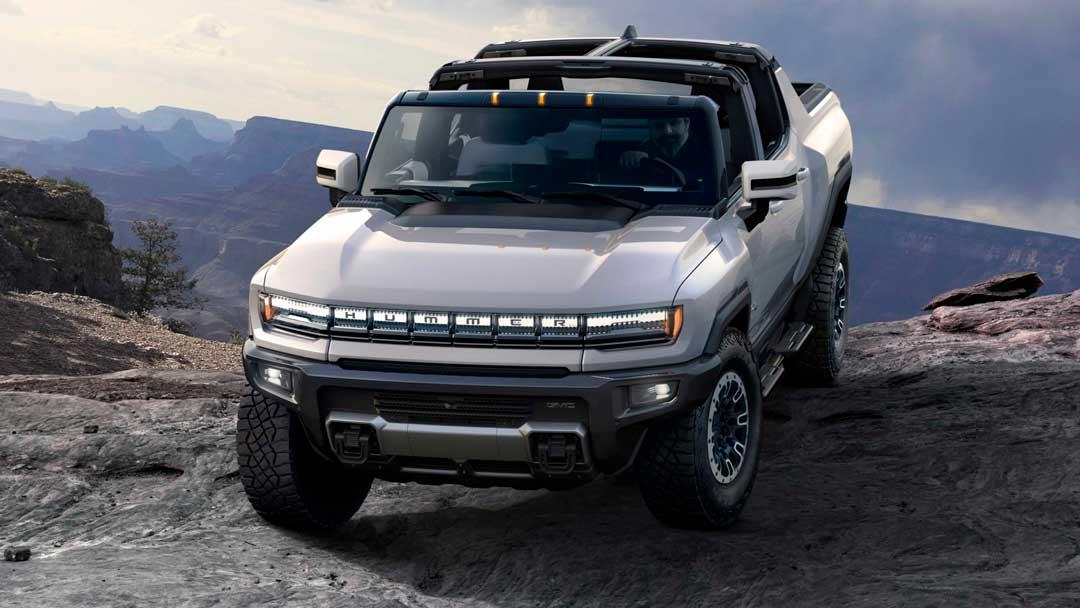 GMC Hummer EV 2022 года