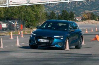 """Лосиный тест"" для Audi A3 Sportback"
