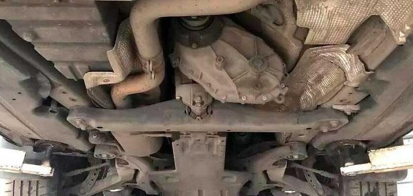 ремонт раздатки Audi