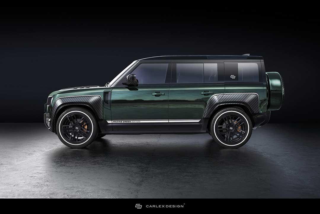 Land Rover Defender в стиле British Racing Green