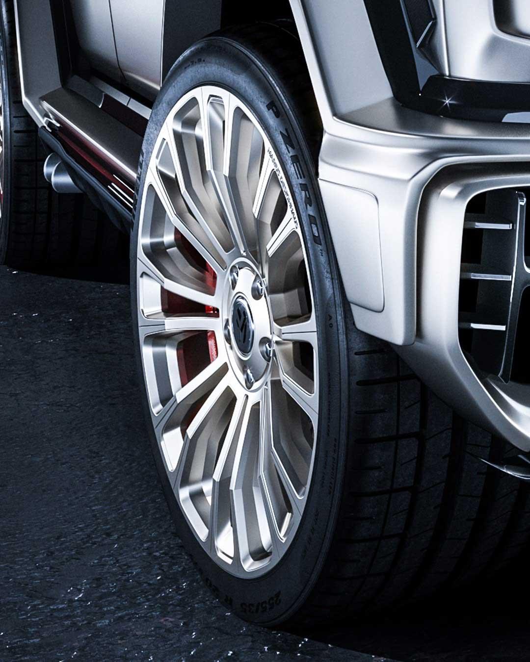 Mercedes-Benz G-Class MD2