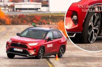 """Лосиный тест"" для Toyota RAV4 Plug-in Hybrid"