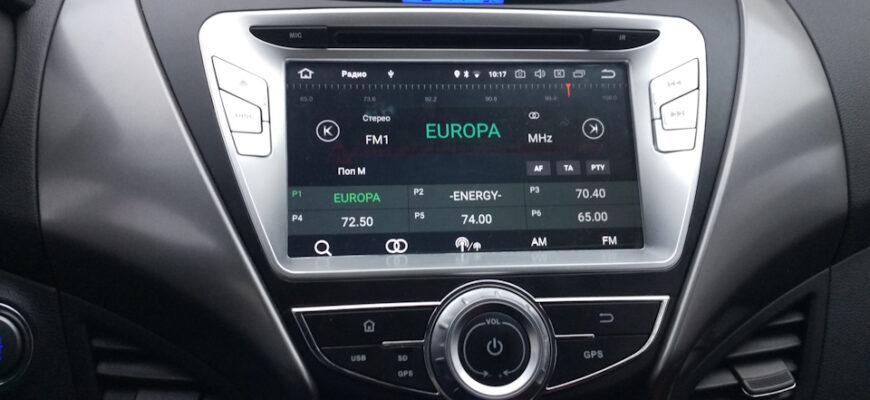 Магнитола на android Hyundai Elantra