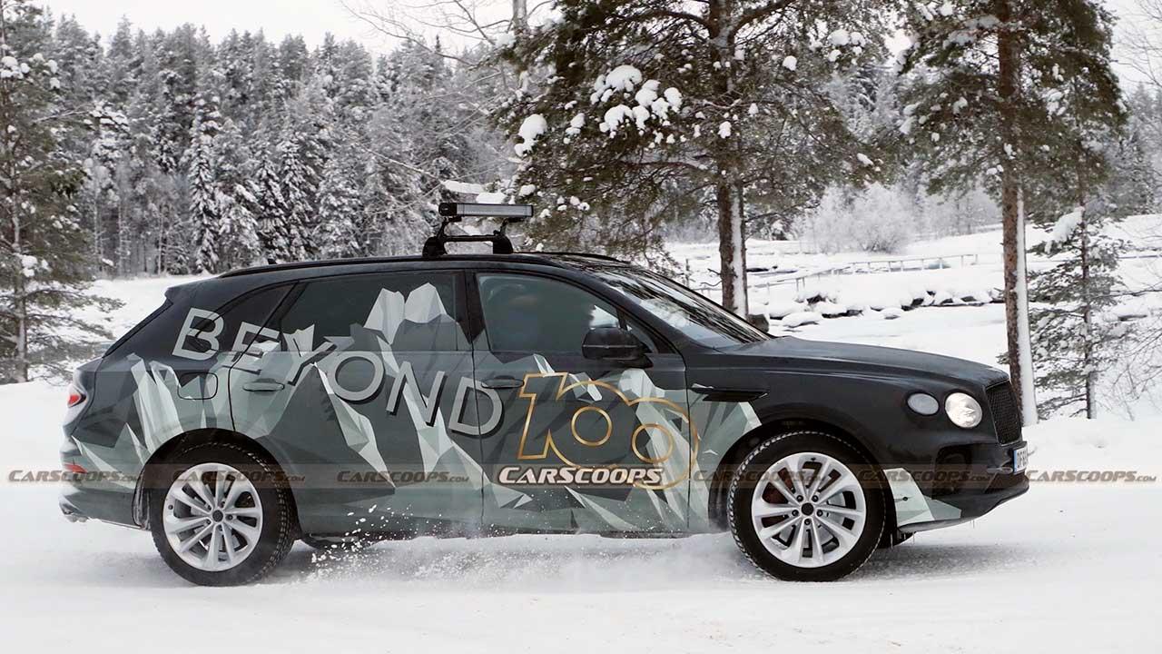Bentley Bentayga EWB с удлиненной колесной базой