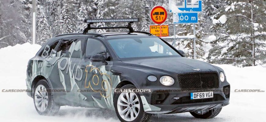 Bentley Bentayga EWB с удлиненной колесной базой