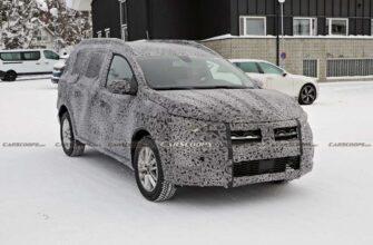 Dacia Logan MCV 2022 прототип