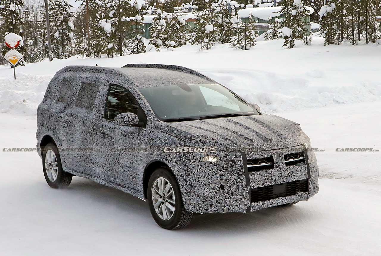 Dacia Logan MCV 2022 front