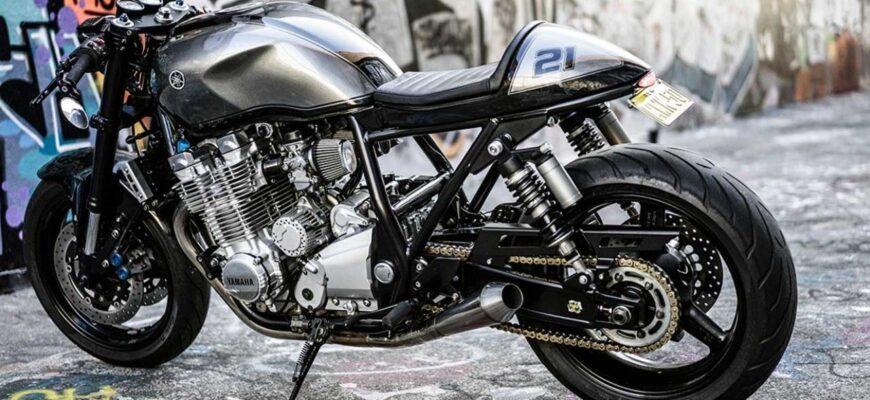 Yamaha XJR1300 от RB Racing