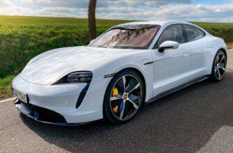 Porsche Taycan Turbo S - разгон до 250 км/ч за 15 секунд