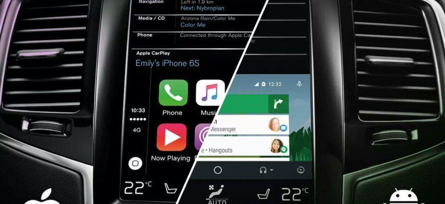 Android Auto и CarPlay