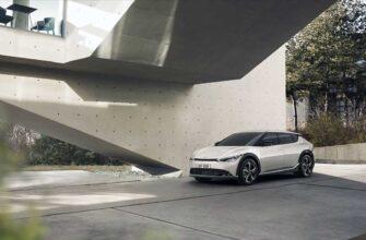 Kia EV6 - новый электрический кроссовер от корейского бренда
