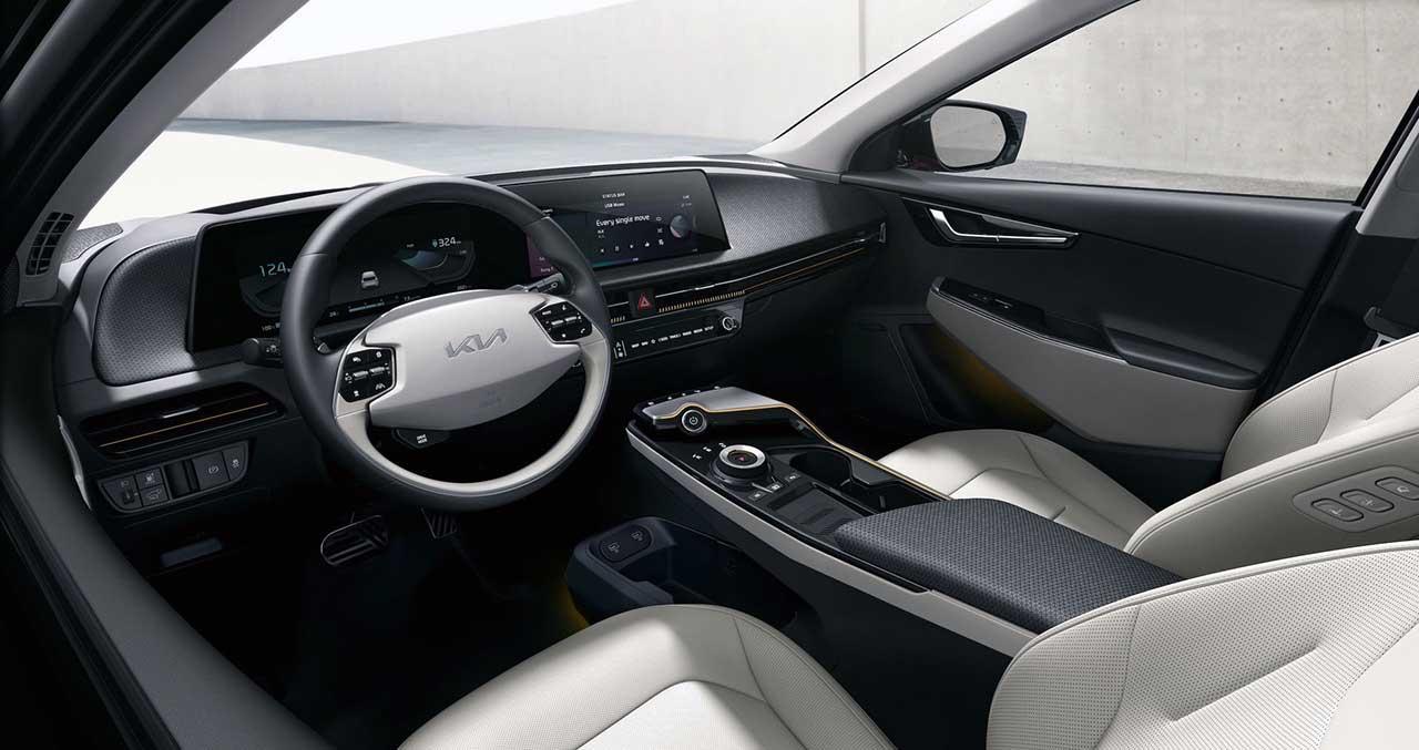 Kia EV6 - интерьер