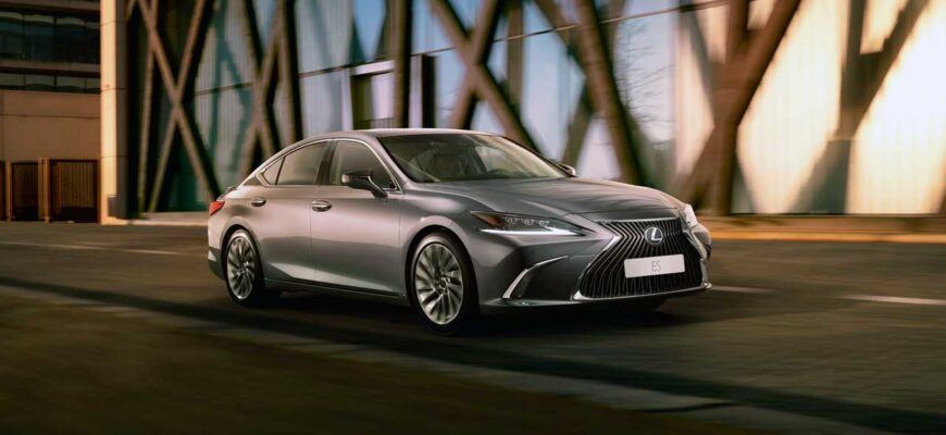 Lexus ES экстерьер