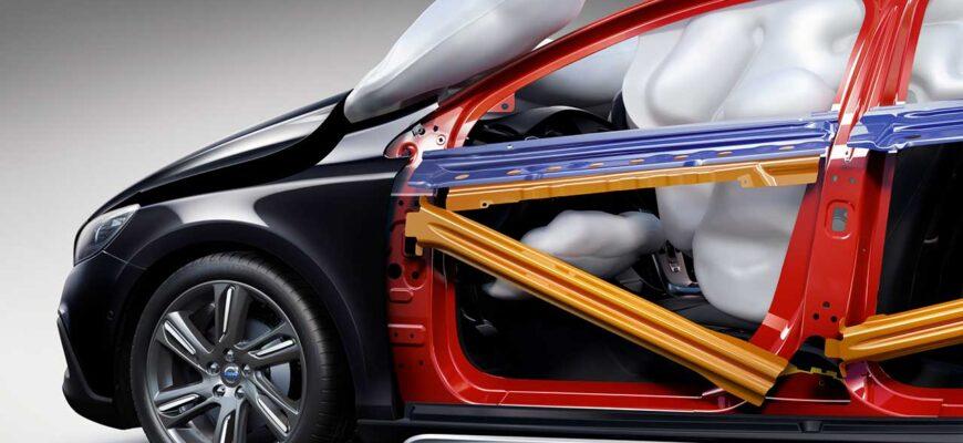 Система пасивной безопасности автомобиля