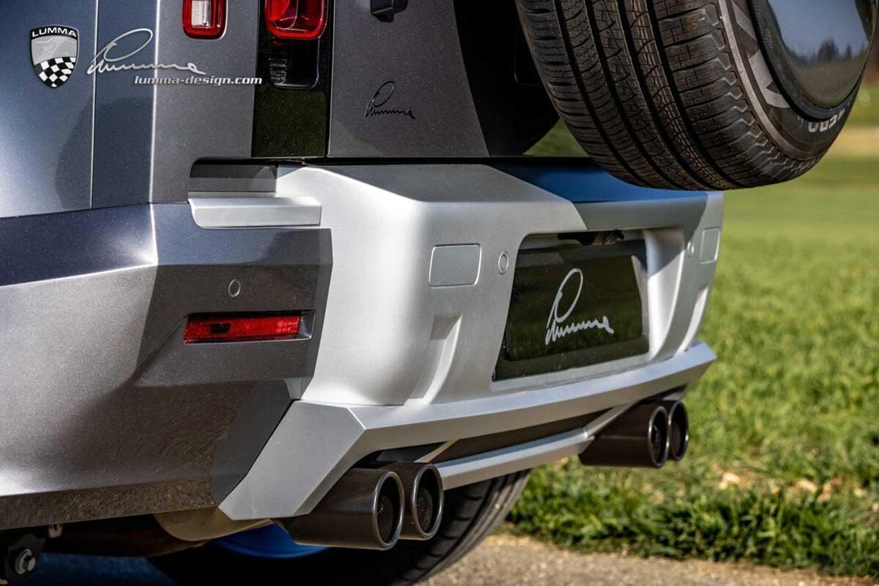 Land Rover Defender (L663) от Lumma Design