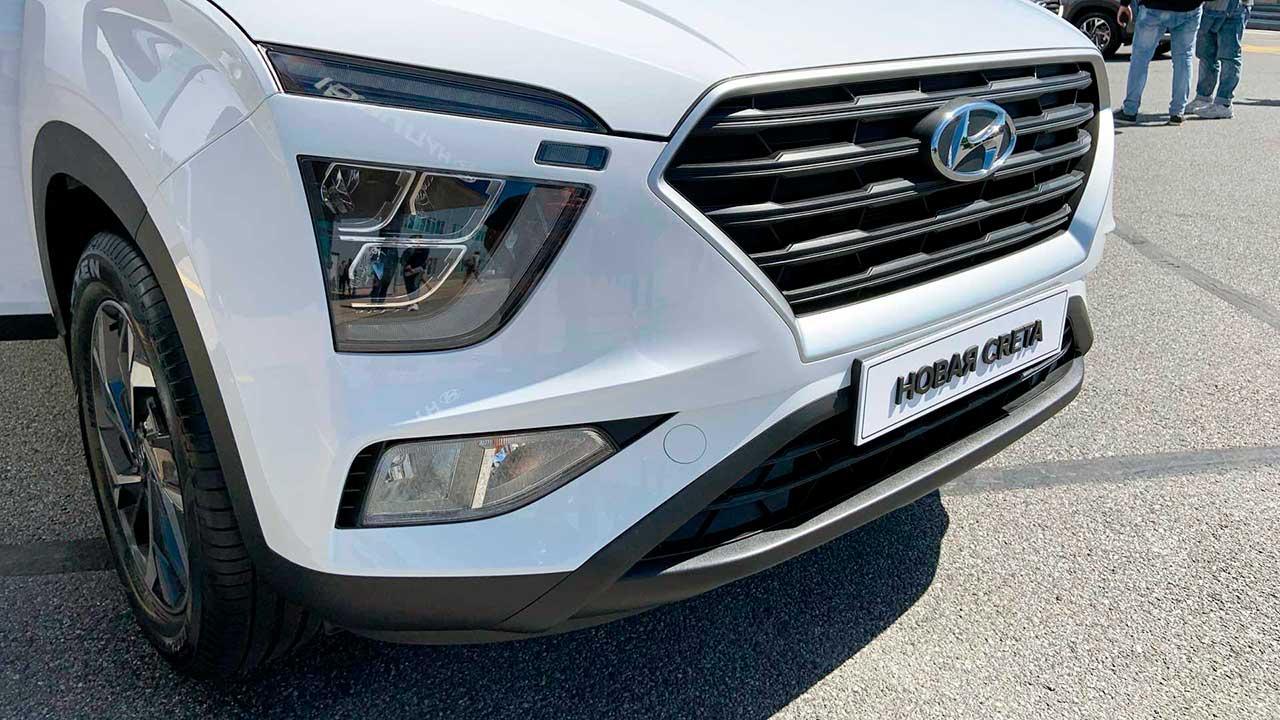 Hyundai Creta второго поколения. Оптика.
