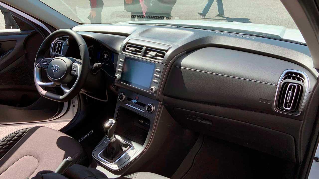 Hyundai Creta второго поколения. Интерьер.