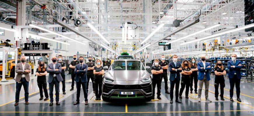Lamborghini Urus самый продаваемый автомобиль марки