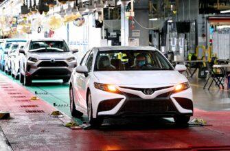 Toyota Camry - 10 миллионов автомобилей