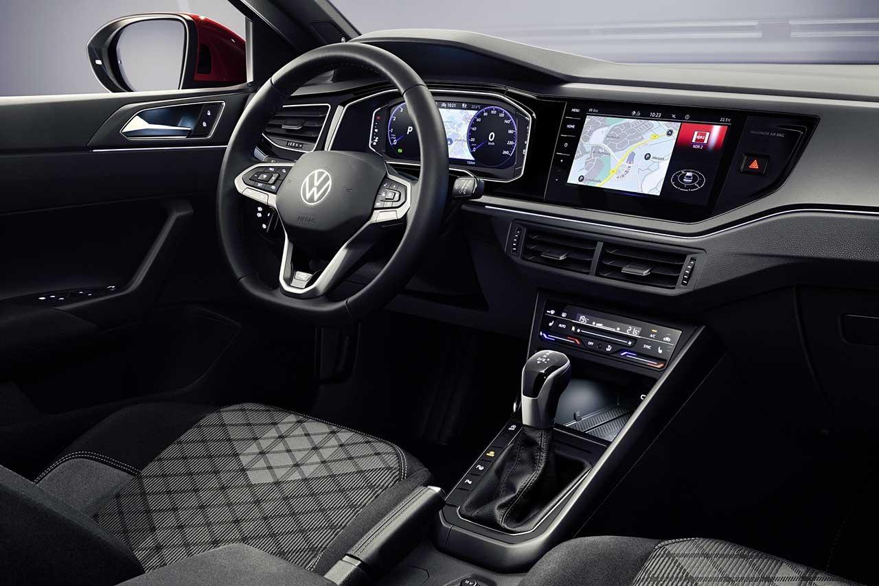 Volkswagen Taigo интерьер