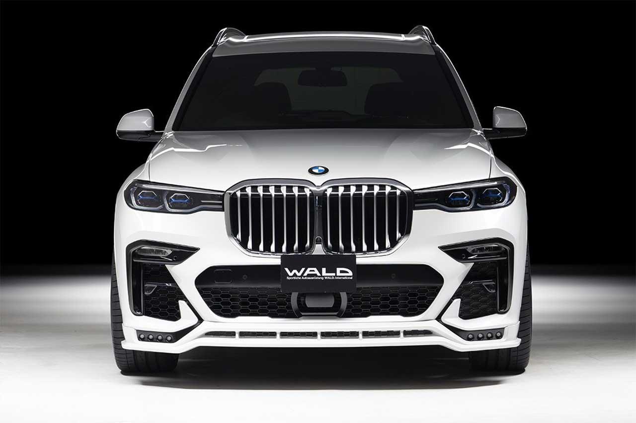 BMW X7 с пакетом тюнинга Wald Sports Line