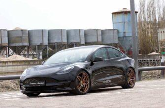 Тюнинг Tesla Model 3 от Senner Tuning