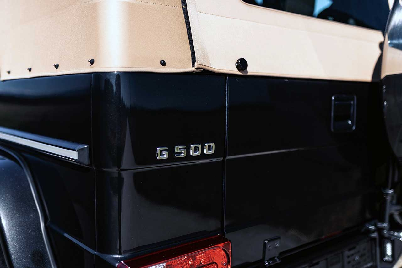 Mercedes-Benz G 500 Cabriolet Final Edition