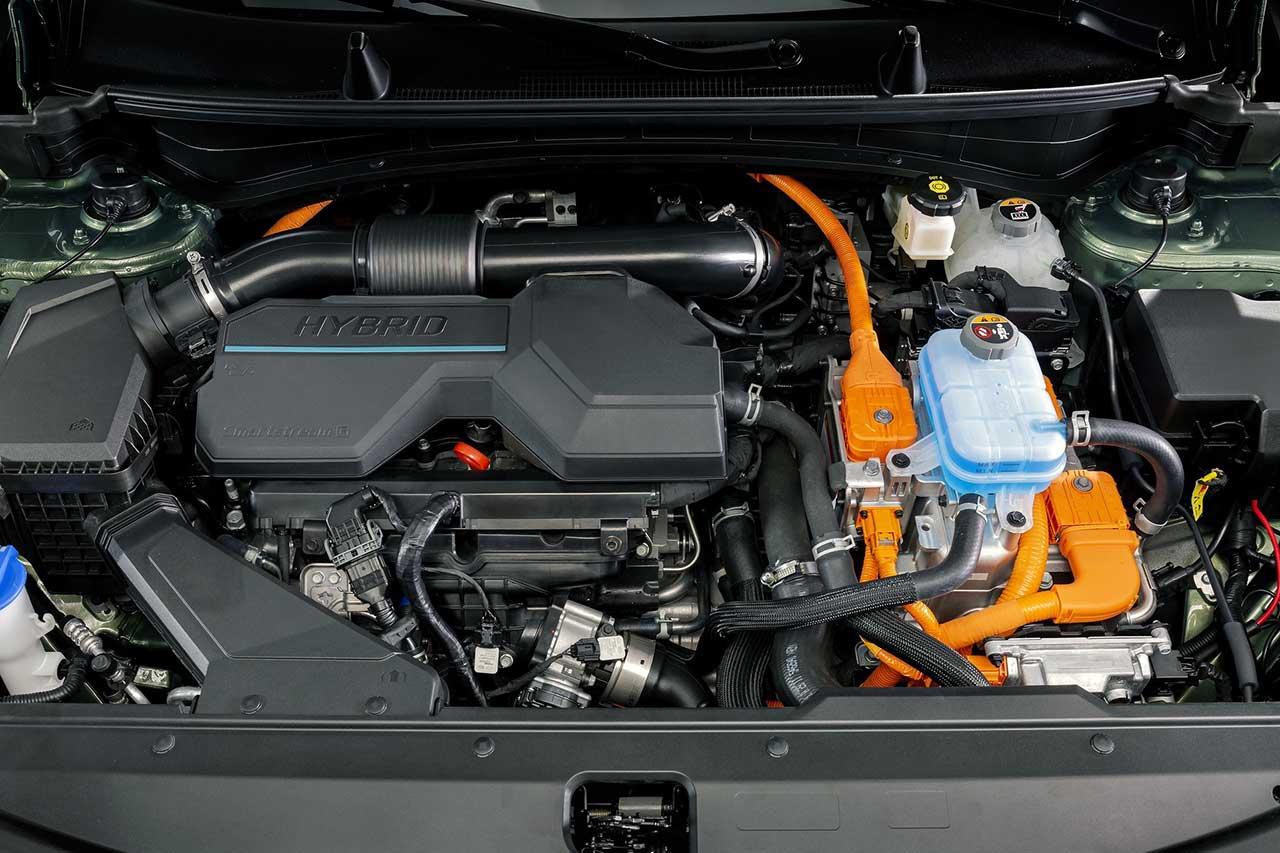 Kia Sportage 2022 для Европы двигатель