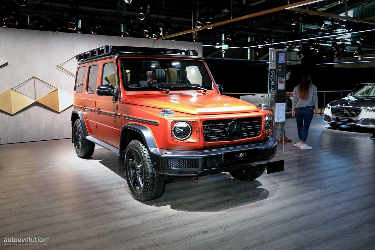 Mercedes-Benz G-Class 2022