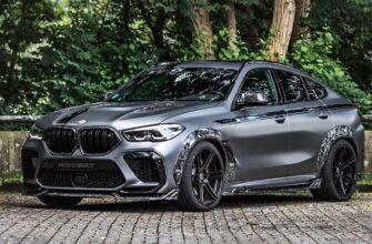BMW X6 M от Manhart