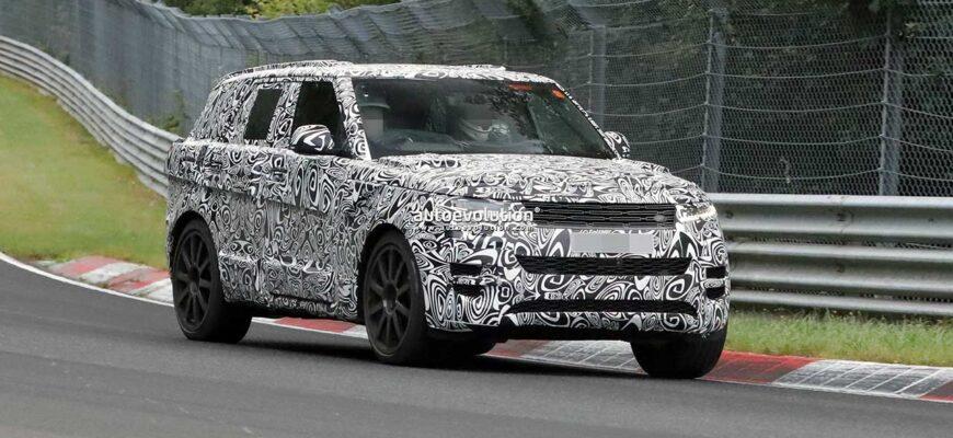 Range Rover Sport SVR 2023