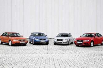 Audi A4 эволюция