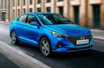 новый Hyundai Solaris 2021 года
