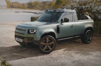 Пикап Land Rover Defender 110