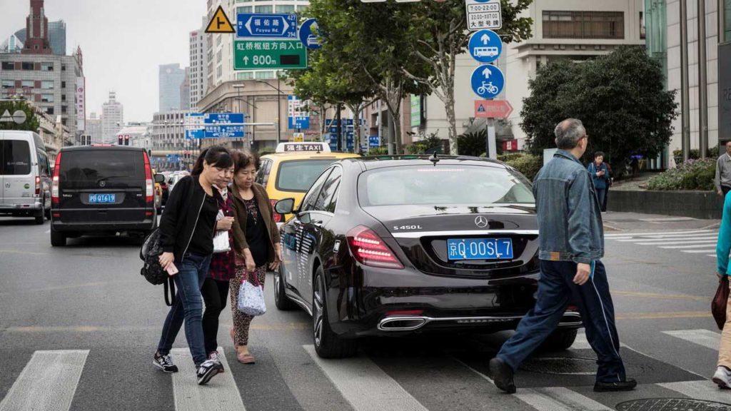 Беспилотный Mercedes-Benz S-Class