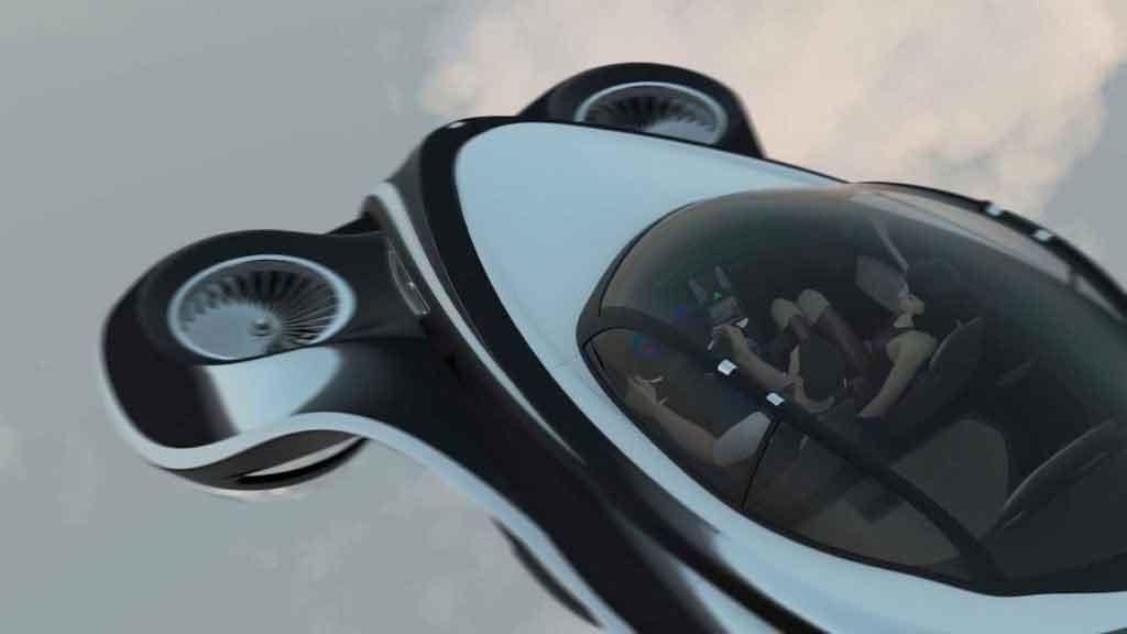 Hover Coupe - летающий автомобиль