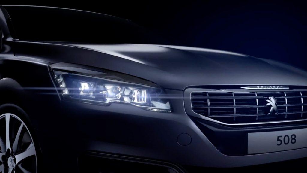 Новая платформа, интерьер и двигатели скрываются под новым новым дизайном Peugeot 508.
