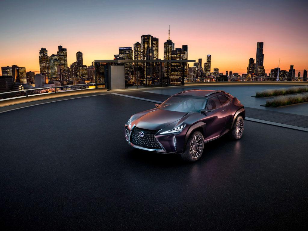 Lexus UX концепт
