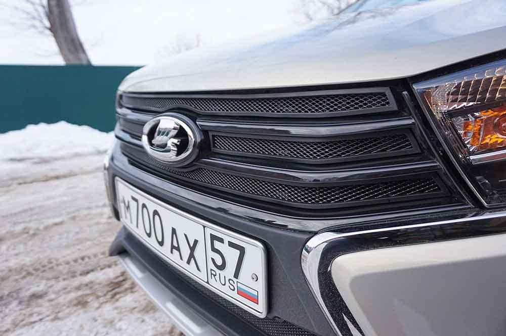 защита радиатора Lada Vesta SW Cross