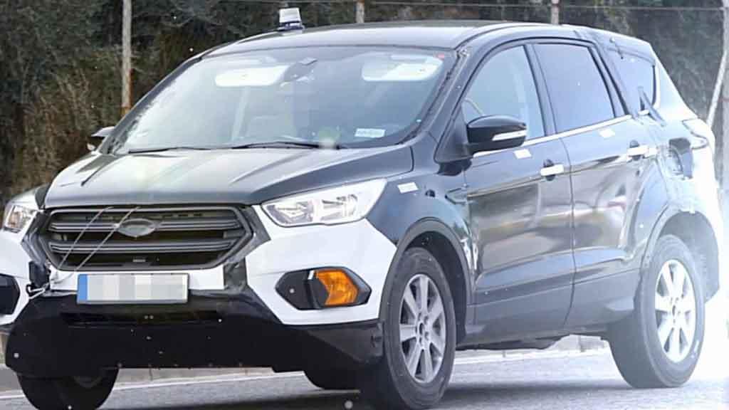 Прототип Ford Kuga 2020 замечен на испытаниях
