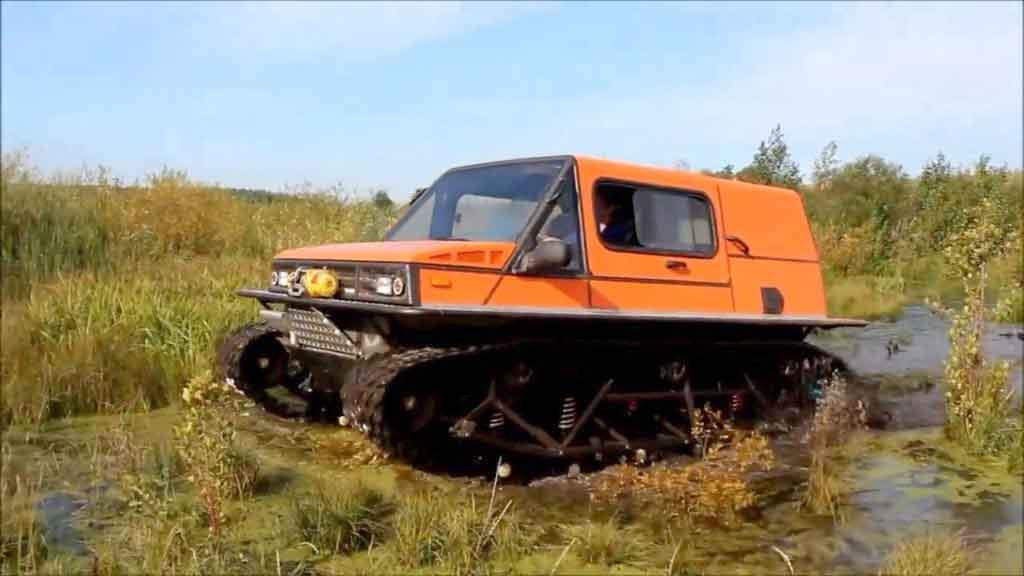Снегоболотоход Русак-3918
