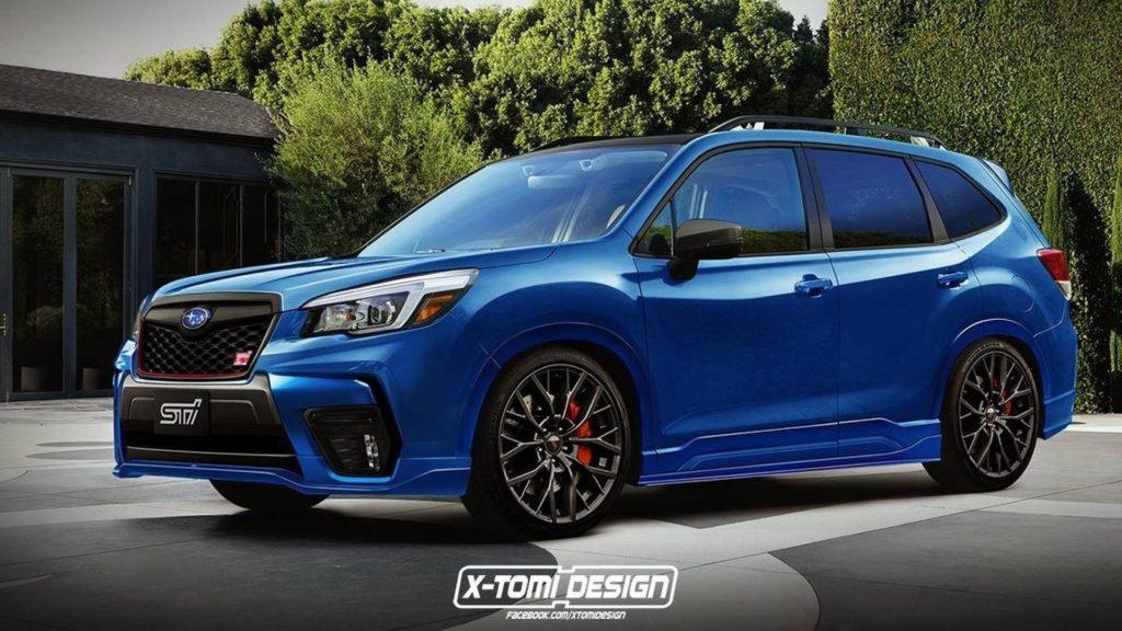 2019 Subaru Forester STI