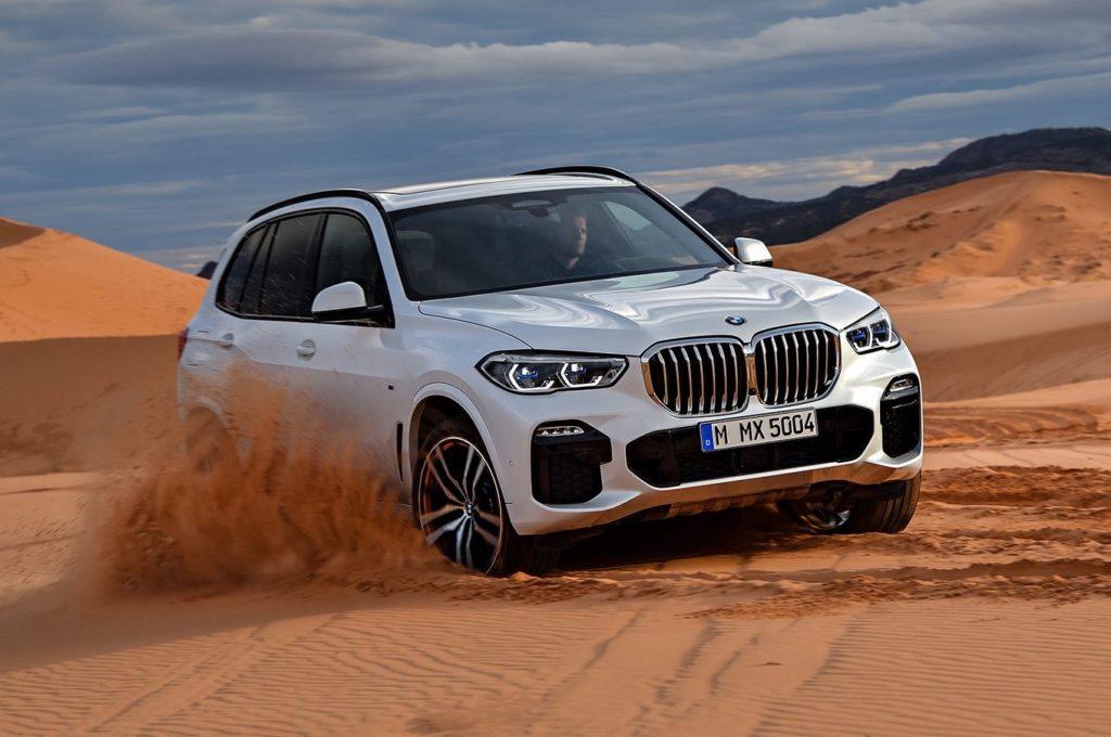 BMW X5 2019 четвертое поколение